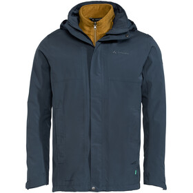 VAUDE Rosemoor 3in1 Jacket Men, steelblue